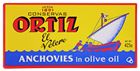 Picture of ORTIZ ANCHOVY FILLETS IN OLIVE OIL