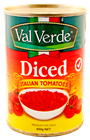 Picture of VAL VERDE DICED ITALIAN TOMATOES