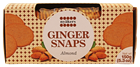 Picture of NYAKERS GINGER SNAPS ALMOND