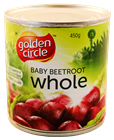 Picture of GOLDEN CIRCLE BABY BEETROOT WHOLE