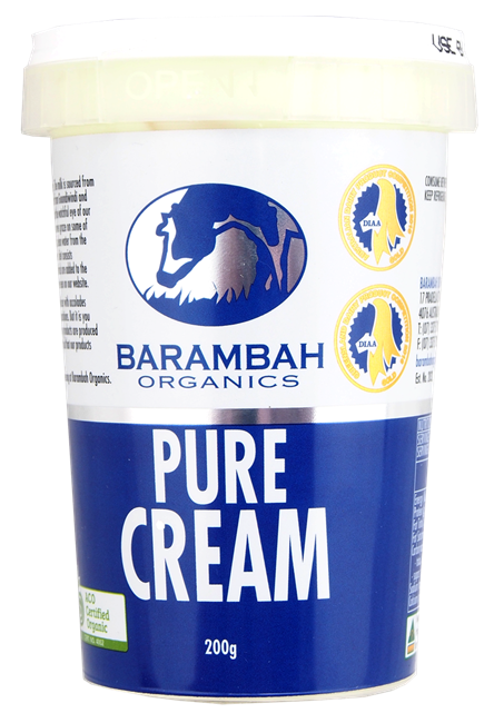 Picture of BARAMBAH ORGANIC PURE CREAM