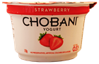 Picture of CHOBANI STRAWBERRY GREEK YOGURT