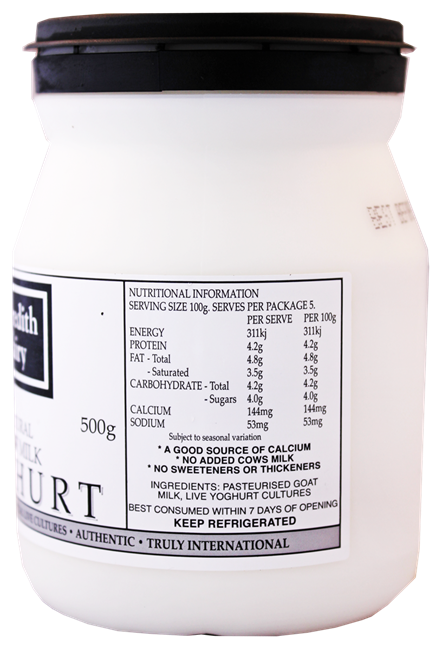 Picture of MEREDITH DAIRY NATURAL GOAT MILK YOGHURT