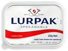 Picture of LURPAK UNSALTED SPREADABLE BUTTER