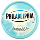 Picture of PHILADELPHIA LIGHT+ SPREADABLE CREAM CHEESE